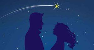 Aussicht auf Sternschnuppen