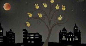 Engel und Apfelkuchen