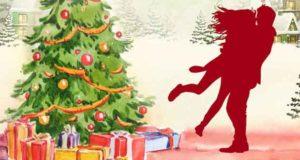 Unterm Weihnachtsbaum küsst sichs besser