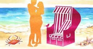 Im Strandkorb küsst sichs besser