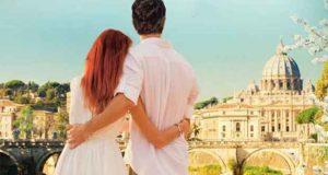über uns die Dächer von Rom: Liebesroman