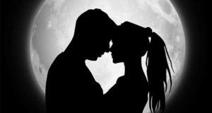 Mondlicht Kuss