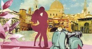 Saure Küsse in Florenz: Liebesroman