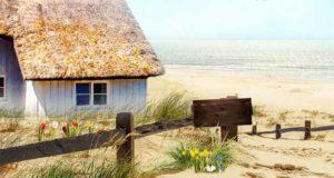 Frühling im kleinen Inselhotel hinterm Deich